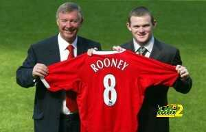 Manchester United's new signing Wayne Ro