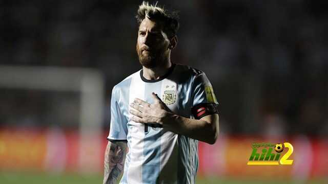 Argentina's Lionel Messi stands during a 2018 World Cup qualifying soccer match against Colombia in San Juan, Argentina, Tuesday, Nov. 15, 2016. (AP Photo/Victor R. Caivano)