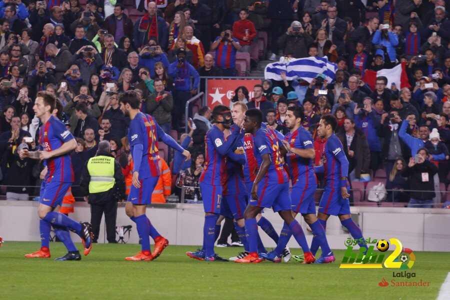 برشلونة ينهي الشوط الأول متقدما بهدف ميسي