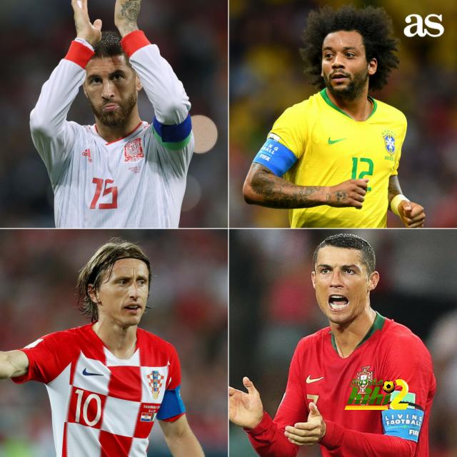الآس : لاعبو الريال قادة منتخبات العالم